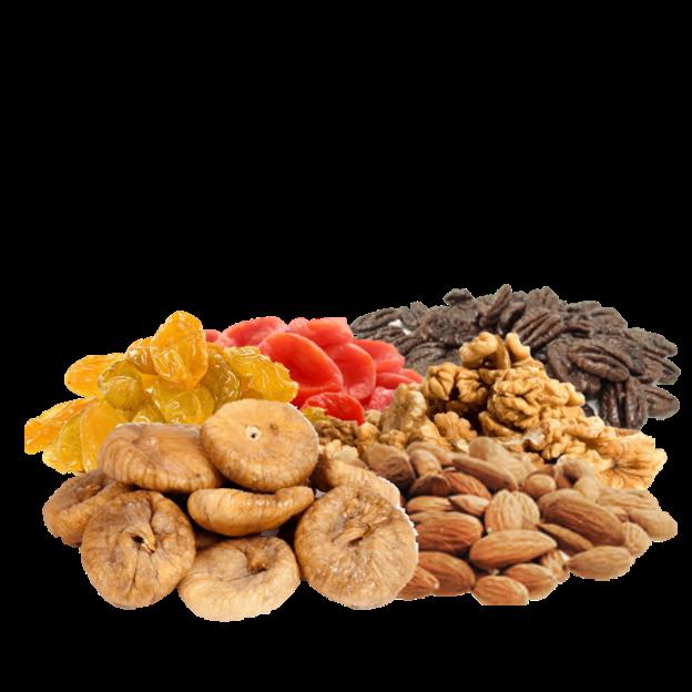 חגיגת אגוזים ופירות יבשים