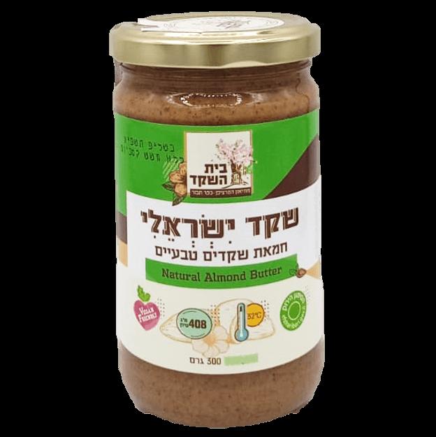 חמאת שקד ישראלי מלא בית השקד